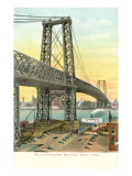 Williamsburg Bridge, New York City Prints