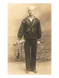 Navy Bugler Poster