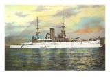 USS Battleship Wisconsin Posters
