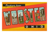 Greetings from Wooster, Ohio Art