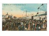 The Midway, York, Pennsylvania Prints