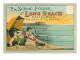 Postcard Folder, Scenic Folder of Long Beach, California Posters