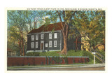 Old Block House, Marietta, Ohio Prints