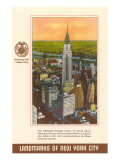 Landmarks of New York City, Chrysler Building Posters