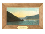 Hudson River Painting by Milton Print