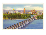 Skyline, Harrisburg, Pennsylvania Prints