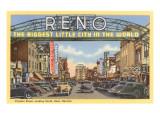 Virginia Street, Reno, Nevada Kunstdrucke