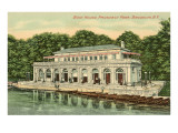Boat House, Prospect Park, Brooklyn, New York Kunstdruck