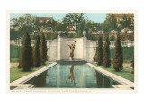 Grounds, Yaddo, Saratoga Springs, New York Print