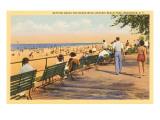 Boardwalk, Rochester, New York Kunstdrucke