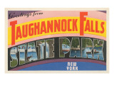 Greetings from Taughannock Falls, New York Prints