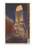 Night, Carew Tower, Cincinnati, Ohio Posters
