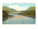 Lackawanna Bridge over Delaware, Water Gap, Pennsylvania Prints
