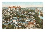 State Capitol and City, Albany, New York Poster