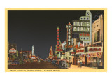 Fremont Street, Las Vegas, Nevada Kunst