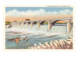 O'Shaughnessy Dam, Columbus, Ohio Prints