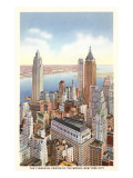 Financial Center, New York City Prints
