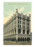 The Baum Building, Oklahoma City, Oklahoma Print