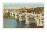 Bridge, Bethlehem, Pennsylvania Prints