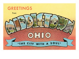 Greetings from Middletown, Ohio Art