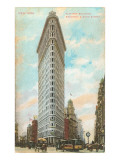 Flatiron Building, New York City Poster
