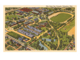 View over Fairgrounds, Columbus, Ohio Prints