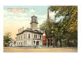 Courthouse, Hudson Falls, New York Prints