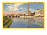 Civic Center, Columbus, Ohio Poster