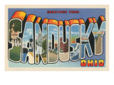 Greetings from Sandusky, Ohio Prints