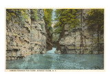 The Flume, Ausable Chasm, New York Prints