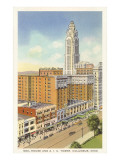 Neil House, A.I.U. Tower, Columbus, Ohio Print