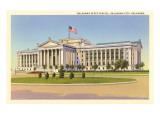 State Capitol, Oklahoma City, Oklahoma Prints