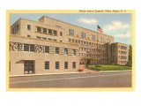 Hospital, White Plains, New York Poster