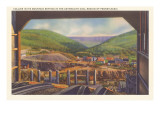 Pennsylvania Coal Mine Poster