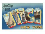 Greetings from Utica, New York Art
