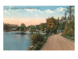 Lake Shore Drive, Mohonk Lake, New York Poster