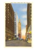 Boston Avenue, Tulsa, Oklahoma Prints