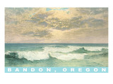 Clouds over Ocean, Bandon, Oregon Print