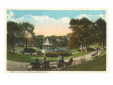 City Park, Saratoga Springs, New York Prints