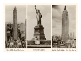 Photos of New York City Sights Posters