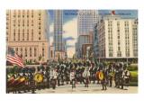 Kiltie Band, Oklahoma City, Oklahoma Prints