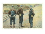 Anthracite Miners, Pennsylvania Posters