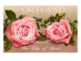 Portland, Oregon, City of Roses Prints