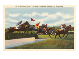 Steeple Chase, Saratoga Springs, New York Prints