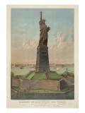 Liberty Enlightening the World, New York Harbor Prints