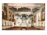 Interior, Monastery of the Precious Blood, Portland, Oregon Print