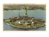 Statue of Liberty, Bedloe's Island, New York City Prints