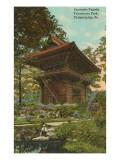 Japanese Pagoda, Fairmount Park, Philadelphia, Pennsylvania Print
