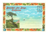Postcard Folder, Beautiful San Diego, California Prints