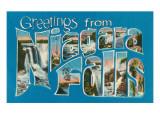 Greetings from Niagara Falls Art